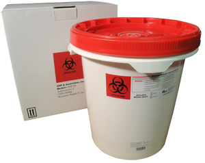 medical waste disposal container