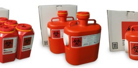 sharps disposal containers in California